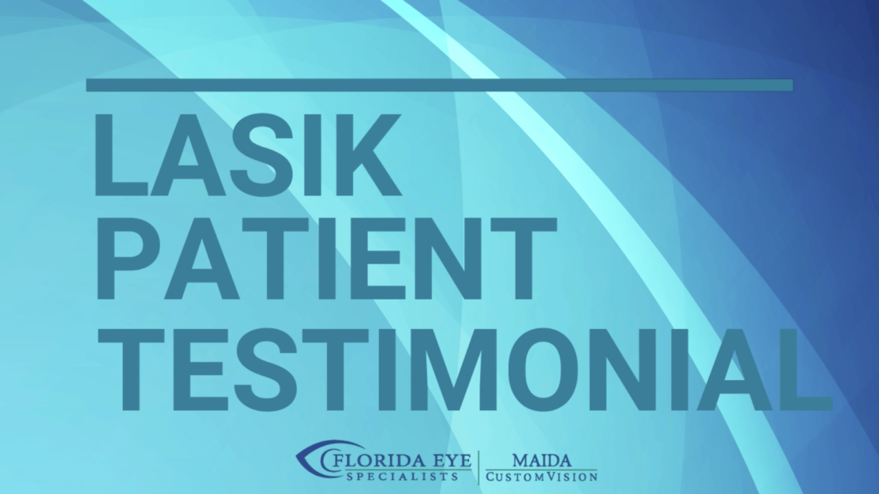 LASIK Patient Testimonial: John