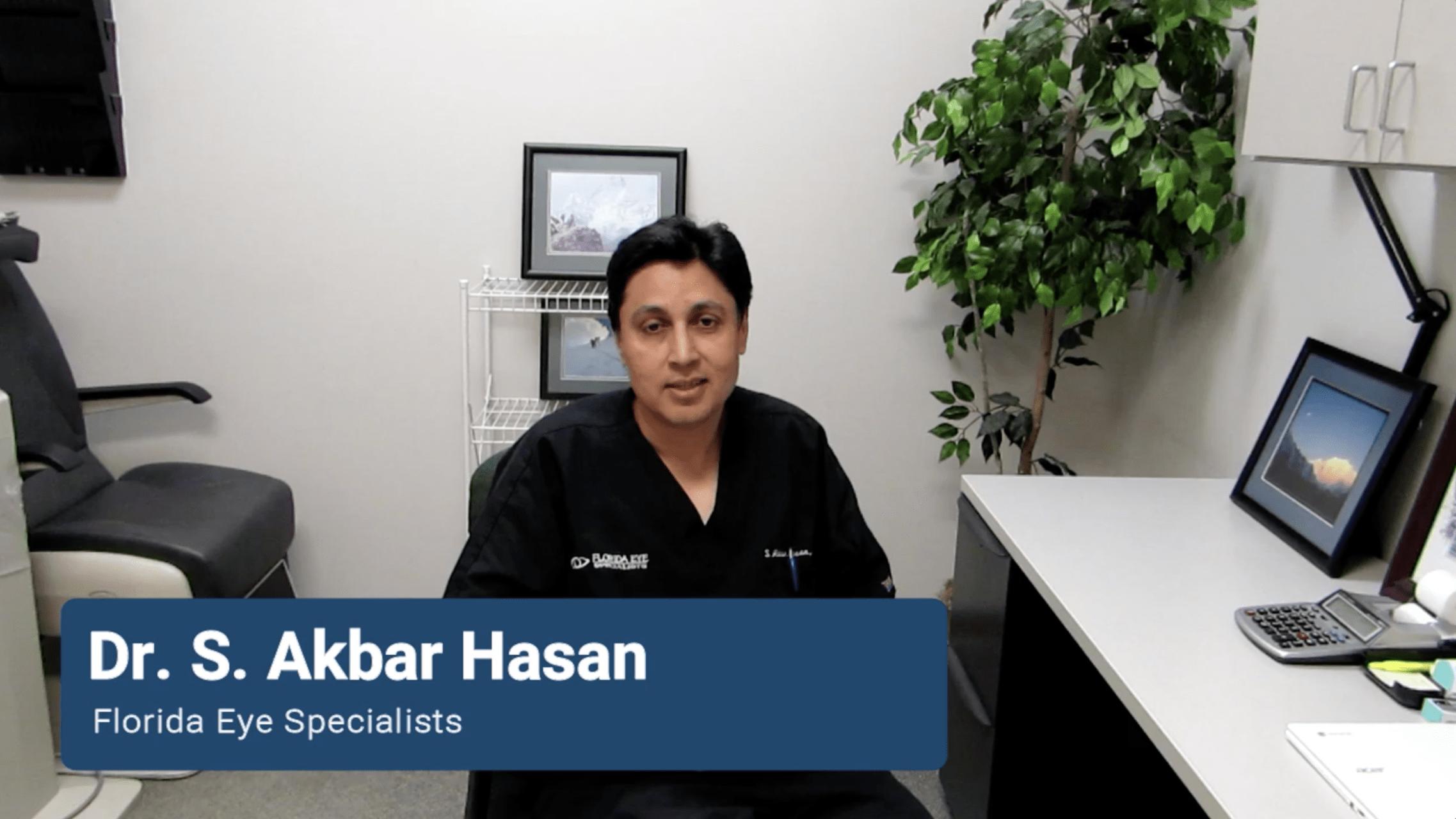 Dr. Hasan Talks LASIK