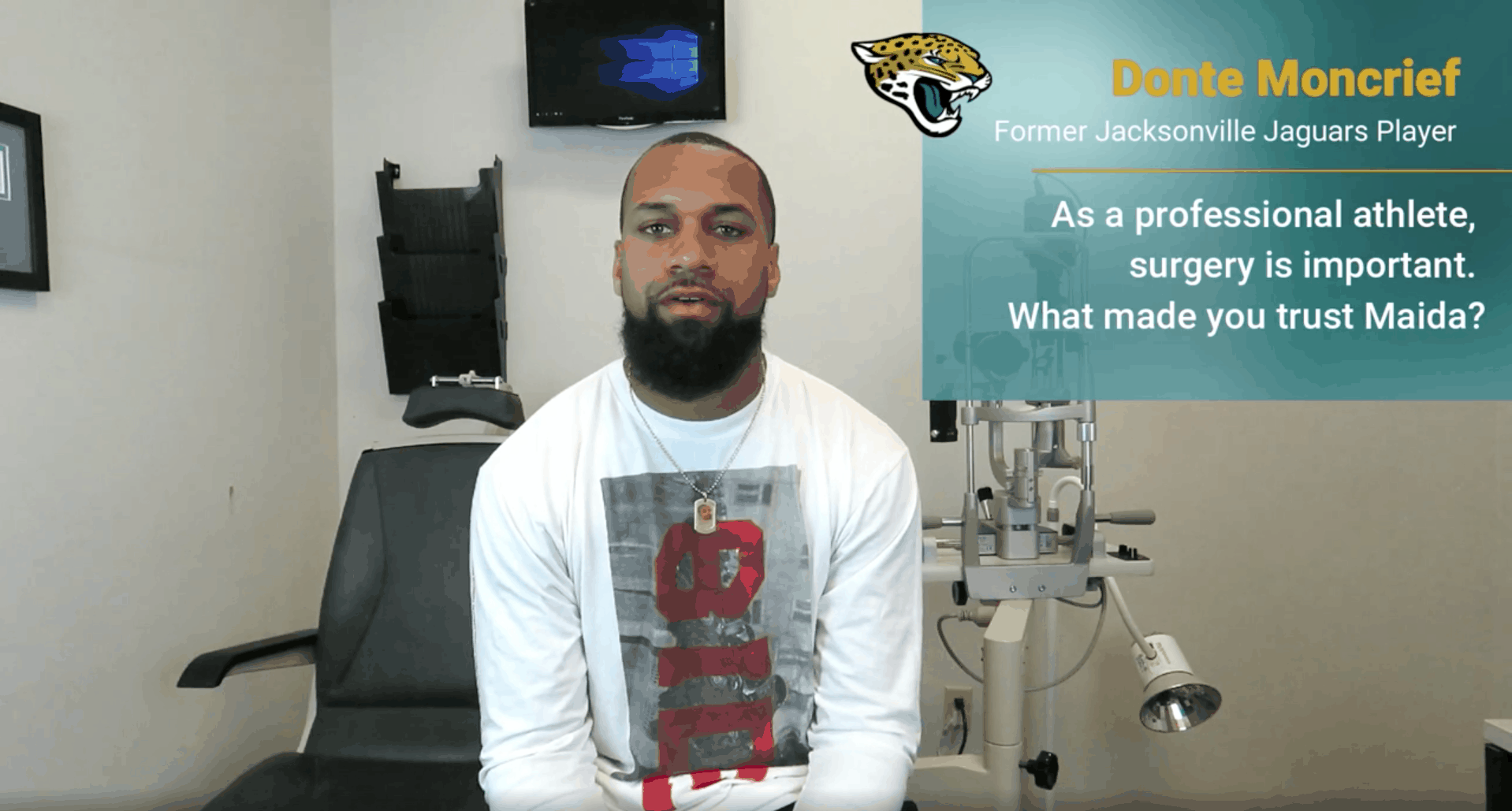 Jacksonville Jaguars Donte Moncrief Maida LASIK Testimonial