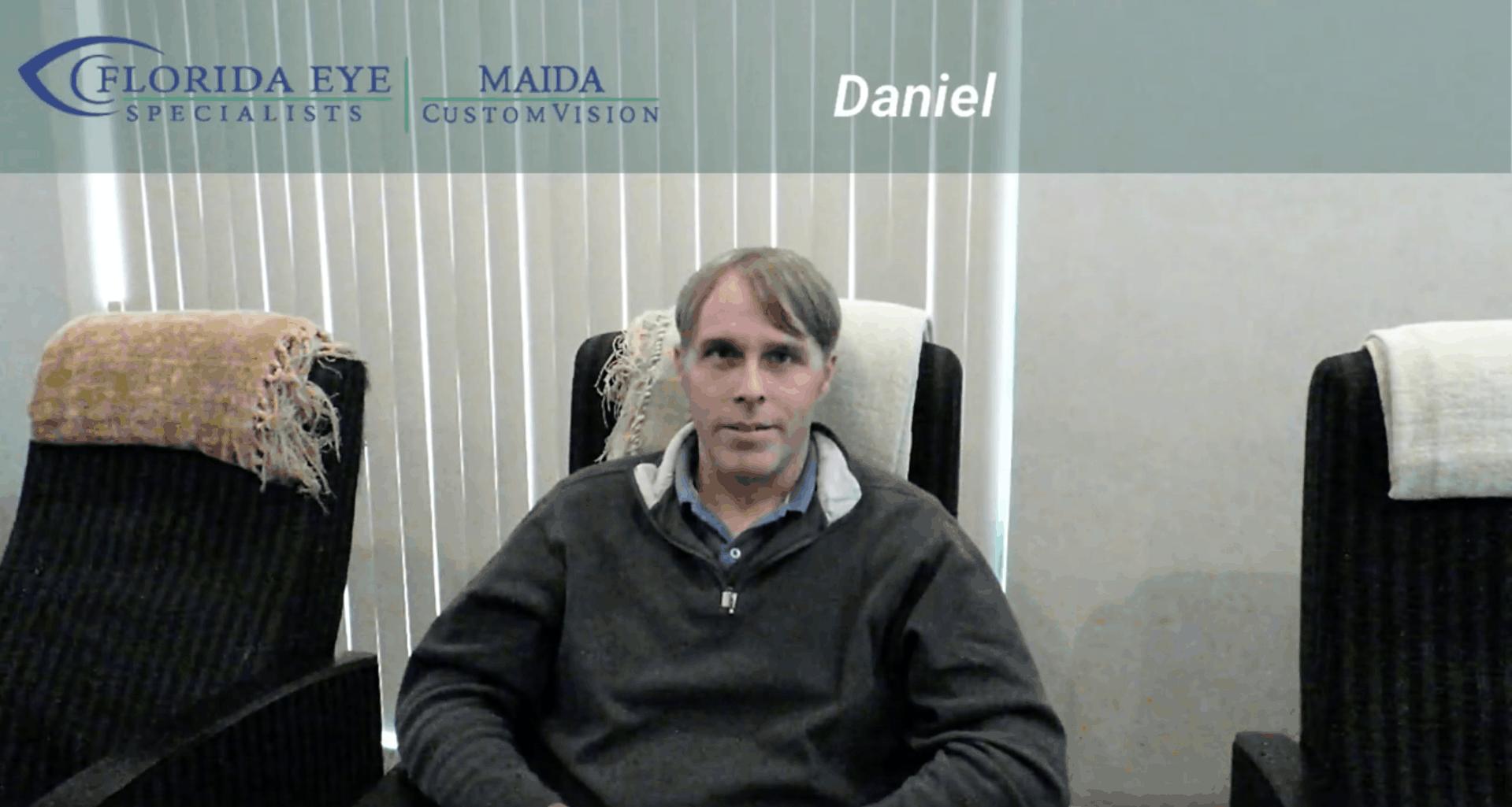 Jacksonville LASIK Patient Testimonial – Daniel