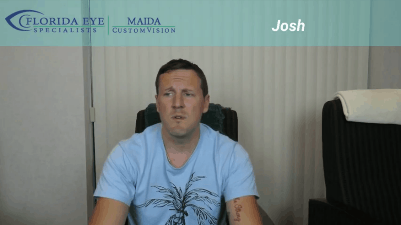 Josh Maida LASIK Testimonial