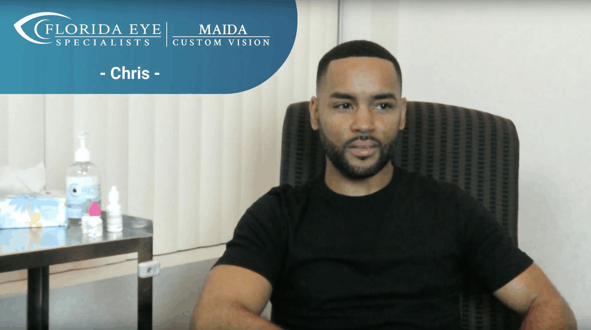 Chris Maida LASIK Testimonial