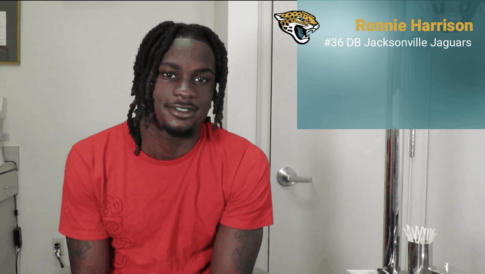 Jacksonville Jaguars' Ronnie Harrison LASIK Testimonial