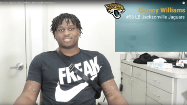 Jacksonville Jaguars' Quincy Williams LASIK Testimonial